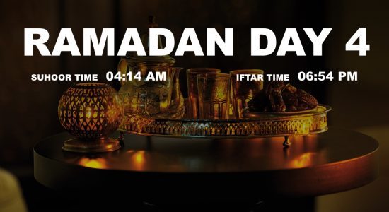 Holy month of Ramadan, Day 4 - comingsoon.ae
