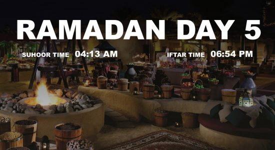 Holy month of Ramadan, Day 5 - comingsoon.ae