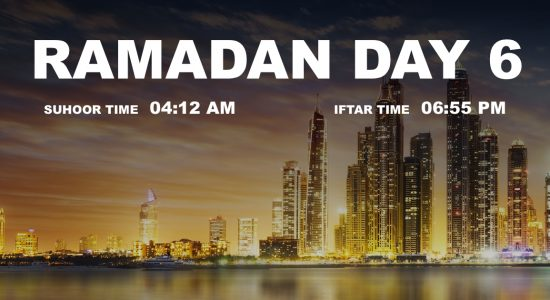 Holy month of Ramadan, Day 6 - comingsoon.ae