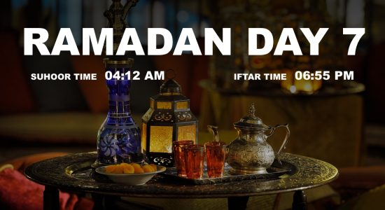 Holy month of Ramadan, Day 7 - comingsoon.ae