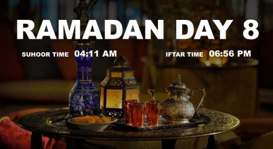 Holy month of Ramadan, Day 8 - comingsoon.ae