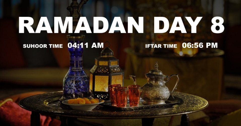Holy month of Ramadan, Day 8