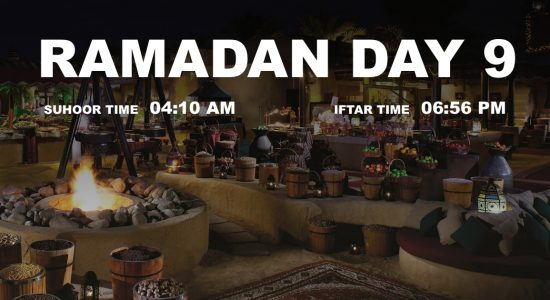 Holy month of Ramadan, Day 9 - comingsoon.ae