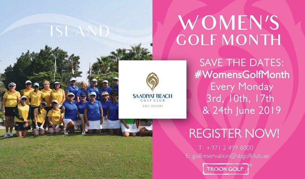 Women's Golf Month at Saadiyat Beach Golf Club - Coming Soon in UAE, comingsoon.ae