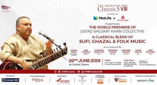 Ustad Shujaat Khan at the Dubai Opera - comingsoon.ae