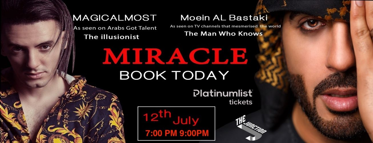 Miracle Show at The Junction - Coming Soon in UAE, comingsoon.ae