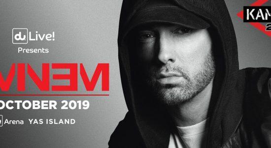 Eminem at du Arena - comingsoon.ae