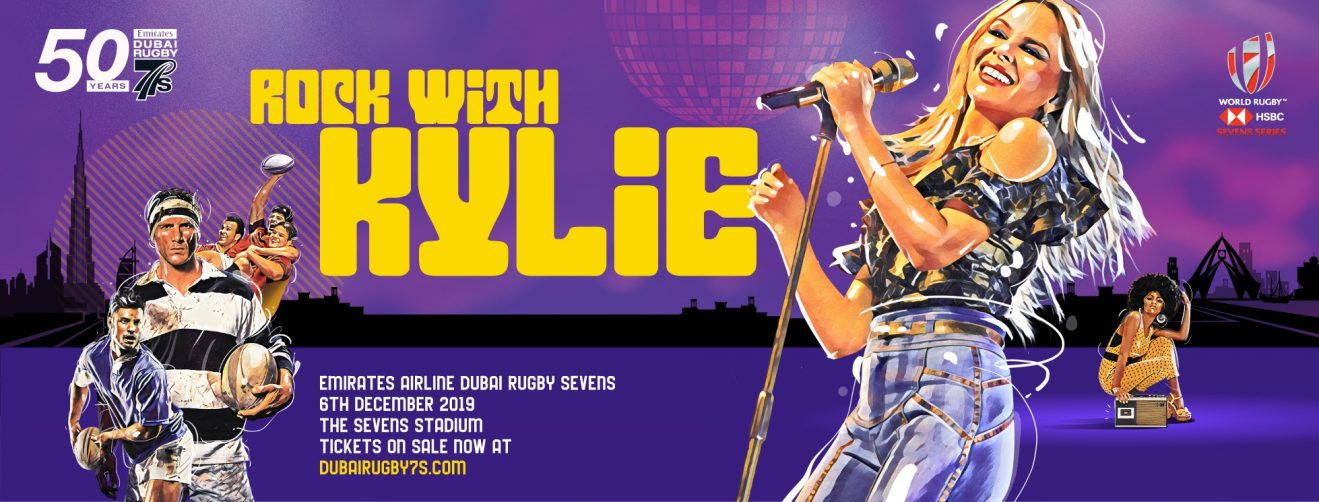 Kylie Minogue at Emirates Airline Dubai Rugby Sevens - Coming Soon in UAE, comingsoon.ae