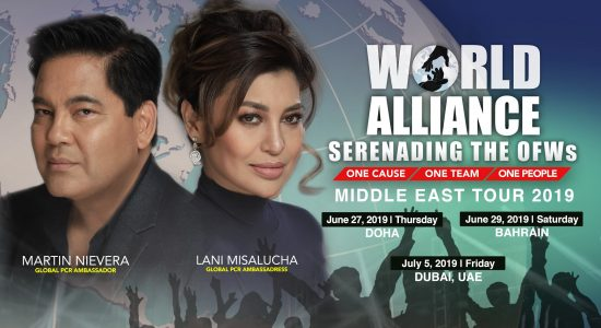 World Alliance Middle East Tour 2019 - comingsoon.ae