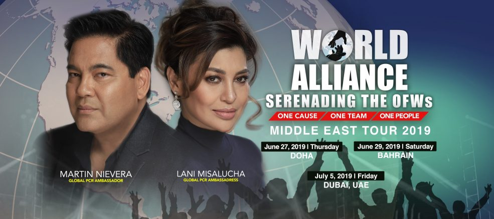 World Alliance Middle East Tour 2019 - Coming Soon in UAE, comingsoon.ae