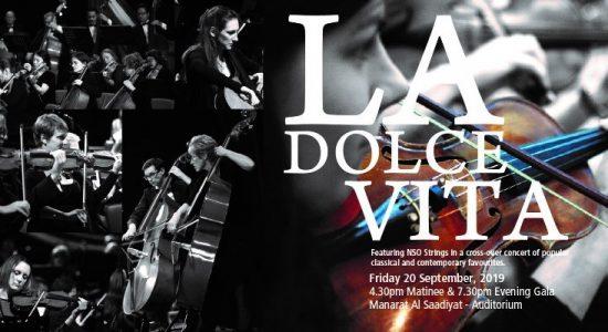 NSO Symphony Orchestra – La Dolce Vita - comingsoon.ae