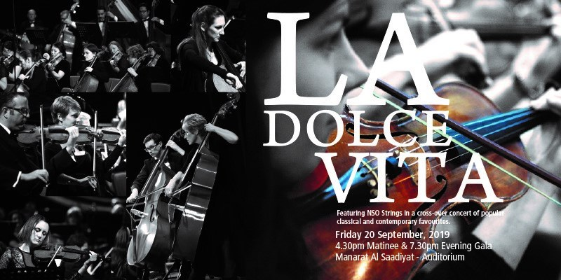 NSO Symphony Orchestra – La Dolce Vita - Coming Soon in UAE, comingsoon.ae