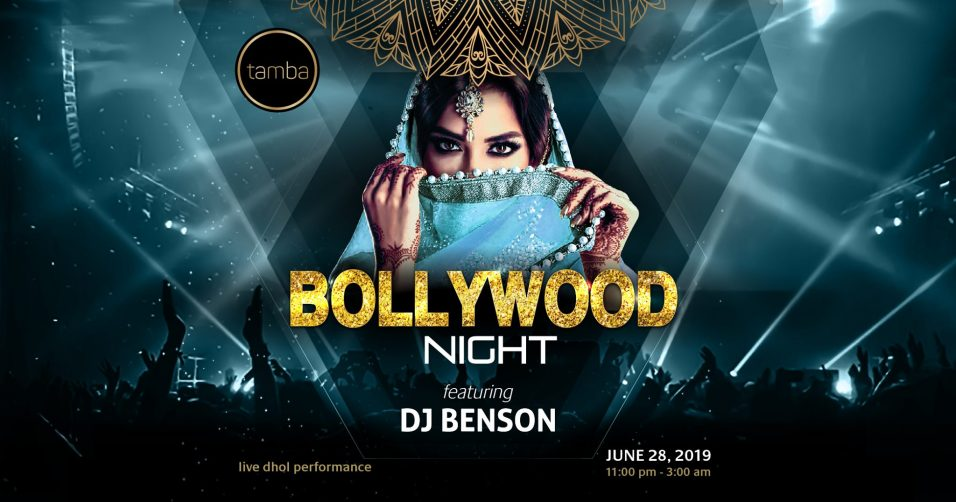 Bollywood Night at Tamba Restaurant - Coming Soon in UAE, comingsoon.ae