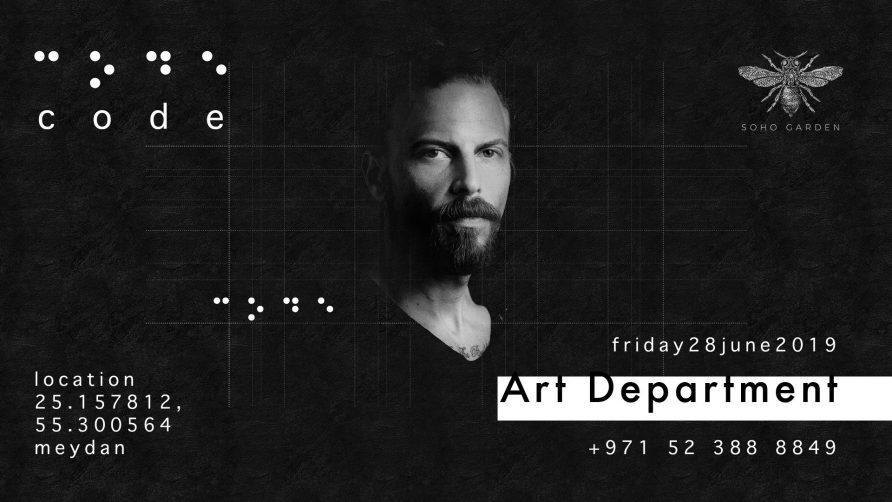 Code DXB – Art Department - Coming Soon in UAE, comingsoon.ae