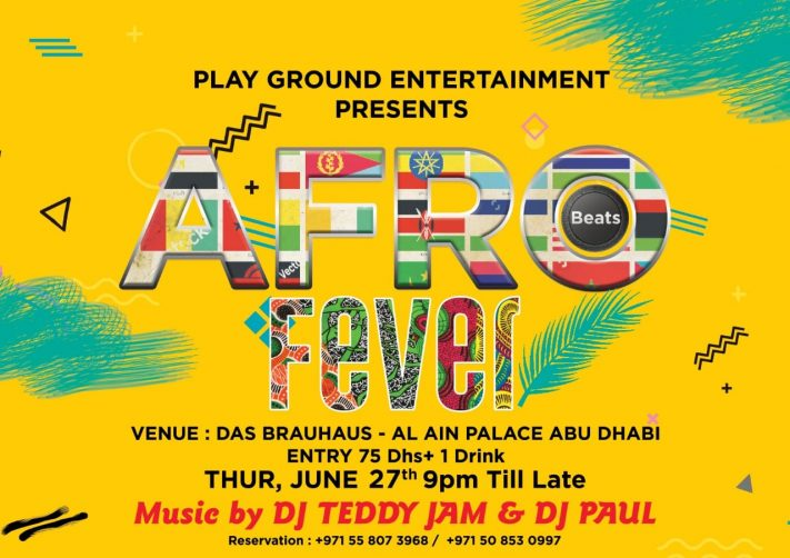 Afro Beats Fever at the Al Ain Palace Hotel - Coming Soon in UAE, comingsoon.ae
