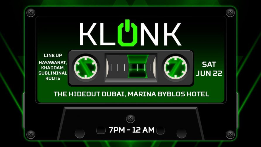 Klonk with Hayawanat, Khaddam & Subliminal Roots - Coming Soon in UAE, comingsoon.ae