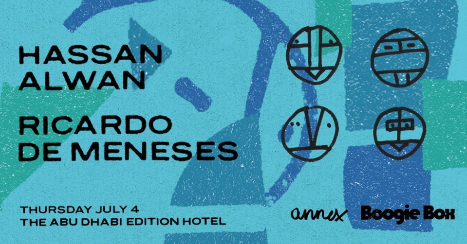 Boogie Box with Hassan Alwan and Ricardo De Meneses - Coming Soon in UAE, comingsoon.ae
