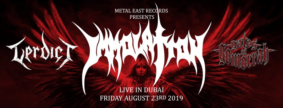 Immolation Live Concert - Coming Soon in UAE, comingsoon.ae
