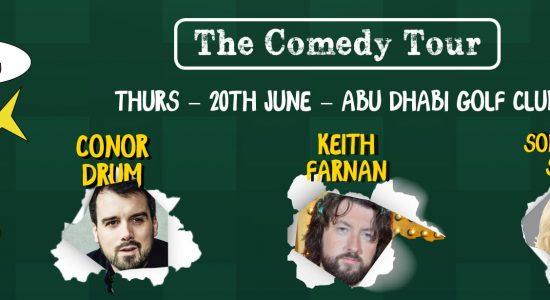 The Comedy Tour at the Abu Dhabi Golf Club - comingsoon.ae