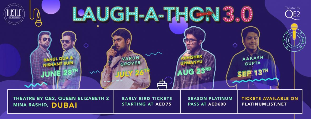Laughathon 3.0 Comedy Series - Coming Soon in UAE, comingsoon.ae