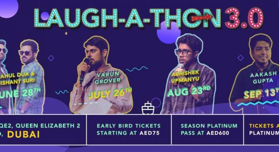 Laughathon 3.0 Comedy Series - comingsoon.ae