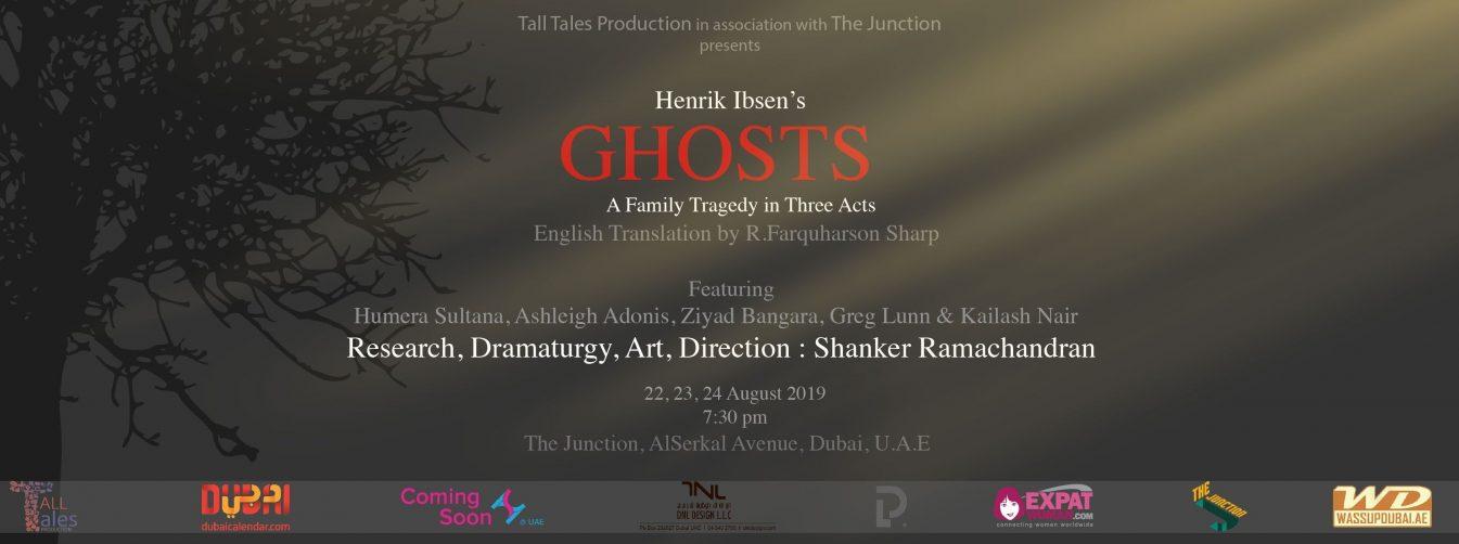 Ghosts by Henrik Ibsen at The Junction - Coming Soon in UAE, comingsoon.ae