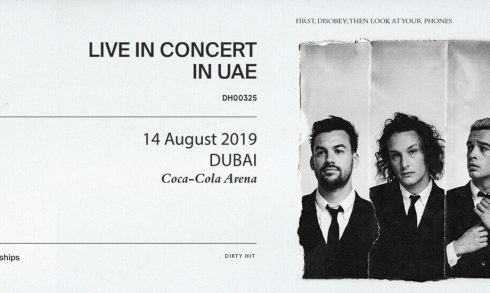 The 1975 at Coca-Cola Arena - Coming Soon in UAE, comingsoon.ae