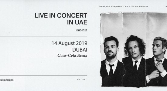 The 1975 at Coca-Cola Arena - comingsoon.ae