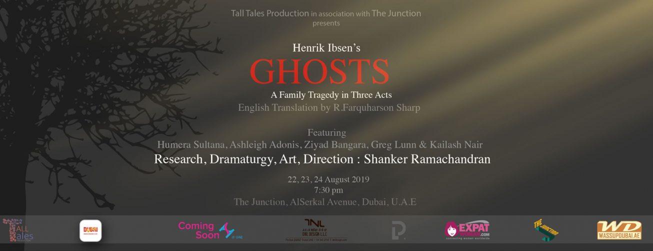 Ghosts by Henrik Ibsen at The Junction - Coming Soon in UAE