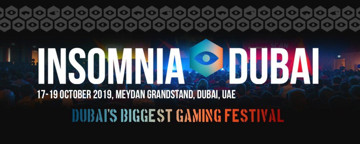 Insomnia Gaming Festival - Coming Soon in UAE, comingsoon.ae
