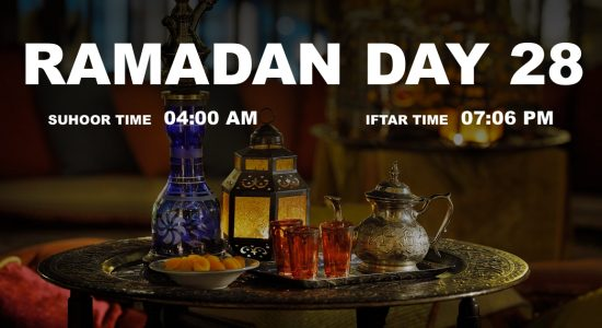 Holy month of Ramadan, Day 28 - comingsoon.ae