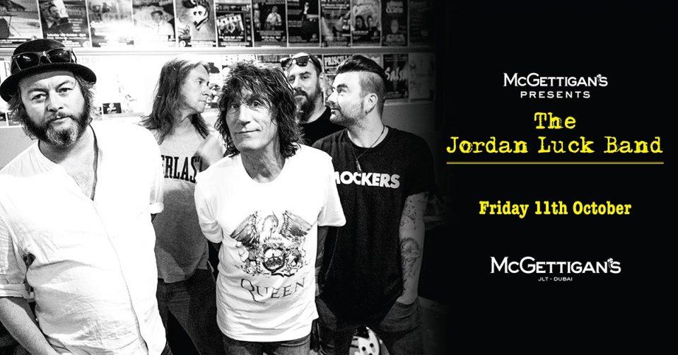 The Jordan Luck Band at McGettigan's - Coming Soon in UAE, comingsoon.ae
