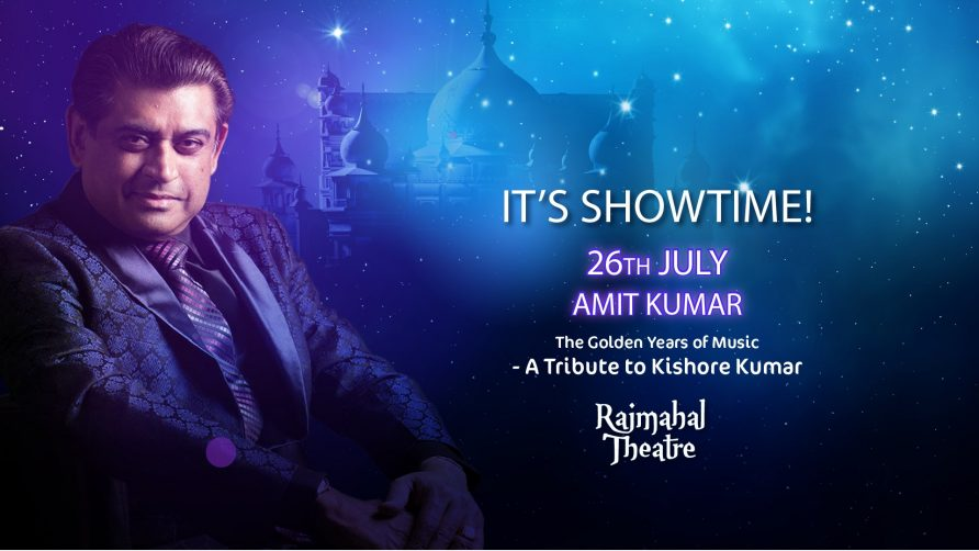 Amit Kumar's Concert at Bollywood Parks - Coming Soon in UAE, comingsoon.ae
