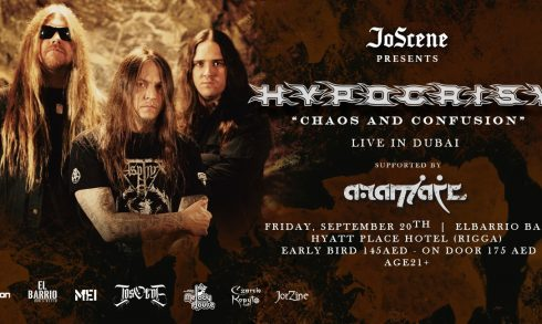 Hypocrisy Live Concert - Coming Soon in UAE, comingsoon.ae