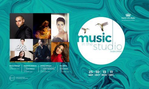 Music in the Studio at the Dubai Opera - Coming Soon in UAE, comingsoon.ae