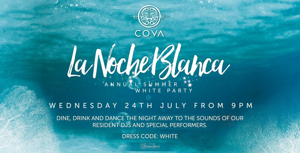 La Noche Blanca at Coya - Coming Soon in UAE, comingsoon.ae