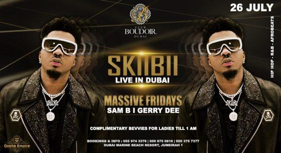 Skiibii at Club Boudoir - comingsoon.ae