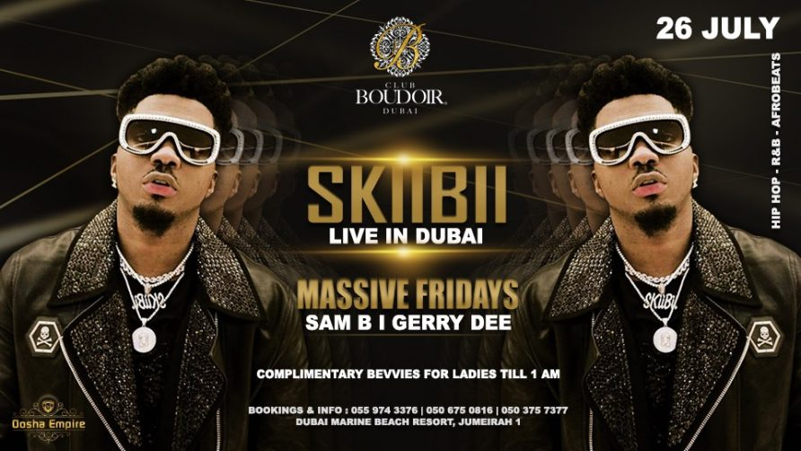 Skiibii at Club Boudoir - Coming Soon in UAE, comingsoon.ae