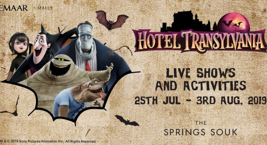 The Hotel Transylvania Live Show at The Springs Souk - comingsoon.ae