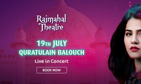 Quratulain Balouch Concert at Bollywood Parks - Coming Soon in UAE, comingsoon.ae