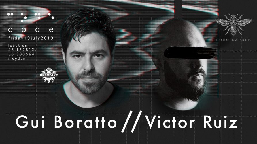 Code DXB – Gui Boratto and Victor Ruiz - Coming Soon in UAE, comingsoon.ae