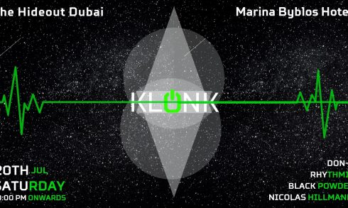 Klonk with Rhythmic, Black Powder, Nicolás Hillmann, Don-x - Coming Soon in UAE, comingsoon.ae