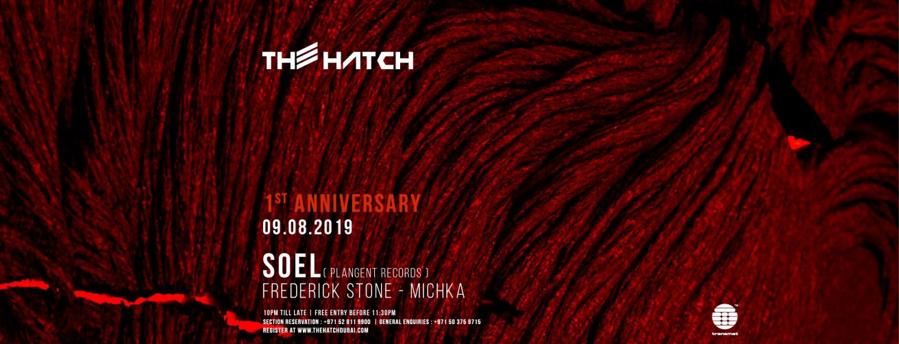 The Hatch – First Anniversary - Coming Soon in UAE, comingsoon.ae