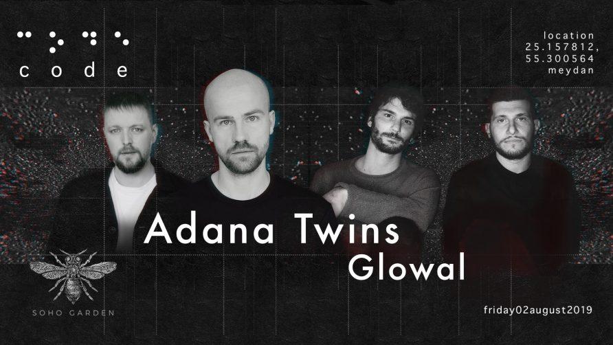 Code DXB – Adana Twins and Glowal - Coming Soon in UAE, comingsoon.ae