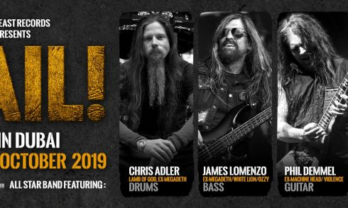 Hail! All star band Live Concert - Coming Soon in UAE, comingsoon.ae