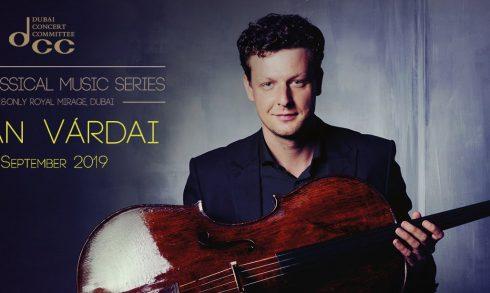 Istvan Vardai Cello Concert - Coming Soon in UAE, comingsoon.ae