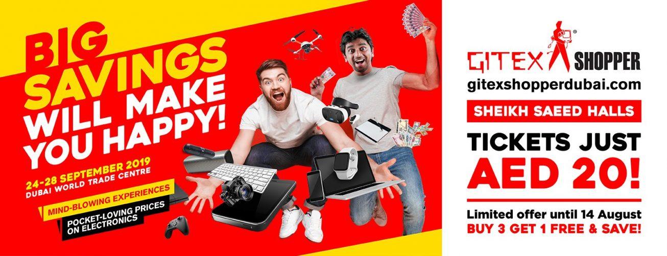 GITEX Shopper 2019 - Coming Soon in UAE, comingsoon.ae