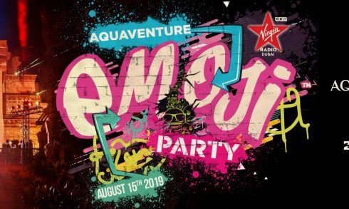 Aquaventure Emoji Party - Coming Soon in UAE, comingsoon.ae