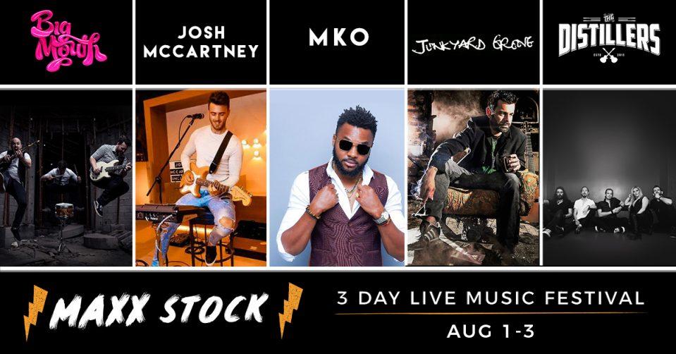 Maxx Stock Music Festival 2019 - Coming Soon in UAE, comingsoon.ae