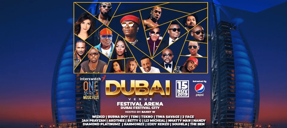 One Africa Music Fest 2019 - Coming Soon in UAE, comingsoon.ae